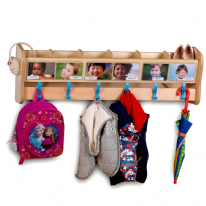 Playscapes Wall Mounted Cloakroom